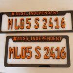 License Plate Amalgam Shillong