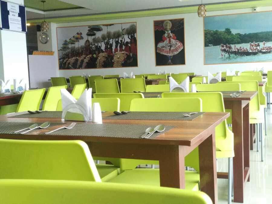 shillong vegetarian food dosa dish southern taste interior tables